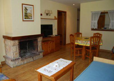 Interior Apartamentos Fijat. Apartamentos Residencia pasiva, vacacional o residentes en Andorra